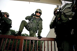 Hostage Rescue Team - FBI HRT agents in June 2006.