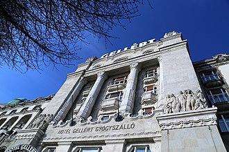 Hotel Gellért - Image: Hotel Gellert Foto Thaler Tamas 2