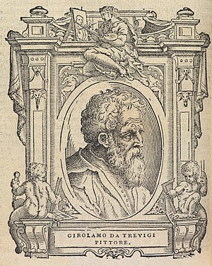 Girolamo da Treviso - Portrait in Vasari's Vite