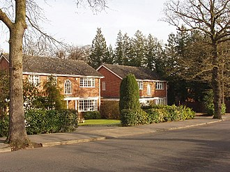 Northwood, London - Late 20th-century houses in Northwood