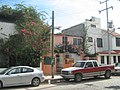 Houses on the La Costa avenue, Cancún. - panoramio.jpg