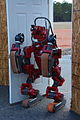 Hrs CMU-NREC 1 Team Tartan Rescue robot CHIMP -- Carnegie Mellon University highly intelligent mobile platform.JPG
