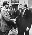 Hubert Humphrey shaking hands with a Florida state senator.jpg