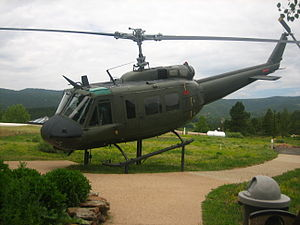 Vietnam Veterans Memorial State Park - Image: Huey helicopter IMG 0435