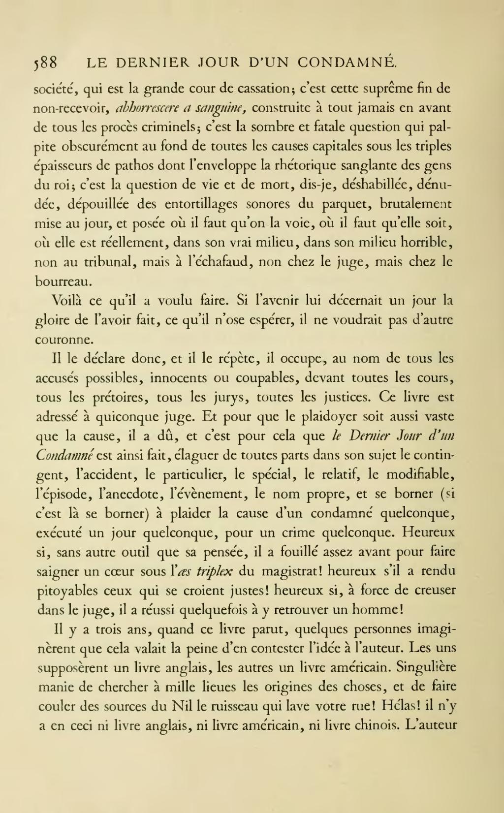 Page Hugo œuvres Completes Impr Nat Roman Tome I Djvu