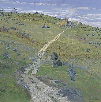 Hugo Baar - Image: Hugo Baar Gebirgsweg in den Beskiden