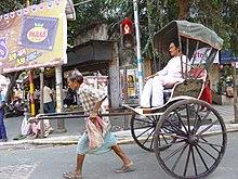 Un risciò a Calcutta, 2012