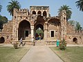 Humayun's Tomb - Entrance of Isa Khan Tomb enclosure - Inside view.jpg