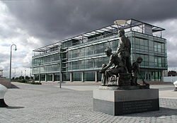 Office building at the Humber Quays complex