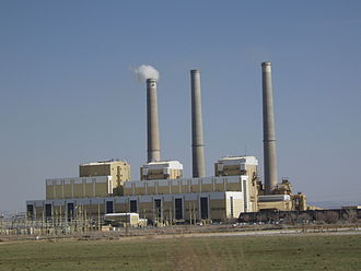 Emery County, Utah - Pacificorp's Hunter Plant near Castle Dale