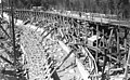 Huntington Lake Dam construction Fresno California.jpg