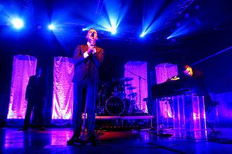 Hurts - Hurts performing in Milan, 24 October 2010.