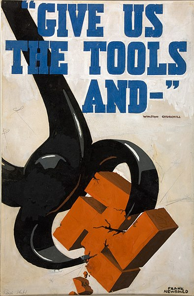 File:INF3-154 Give us the tools and ... Artist Frank Newbould.jpg