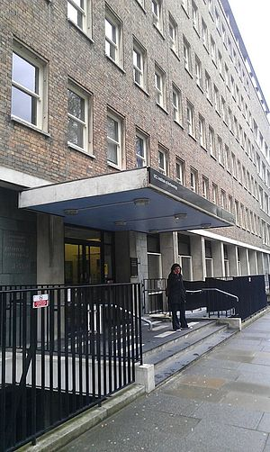 UCL Institute of Archaeology - The entrance to the IOA.