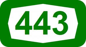 Highway 45 (Israel) - Image: ISR HW443