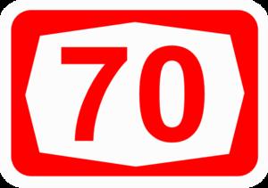 Highway 70 (Israel) - Image: ISR HW70