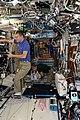 ISS-53 Paolo Nespoli, Mark Vande Hei and Joseph Acaba work in the Destiny lab.jpg