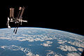 ISS and Endeavour seen from the Soyuz TMA-20 spacecraft 21b.jpg