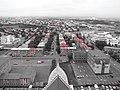 IS - Reykjavik - Red - Hallgrímskirkja - Cutout (4889890289).jpg
