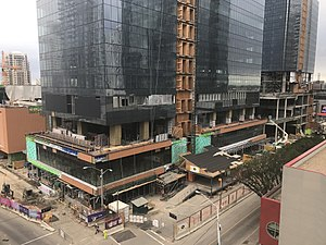 Ice District - Construction in July 2017