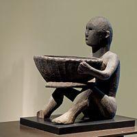 An Ifugao sculpture.