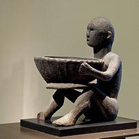 Bulul guardian figure of the Ifugao people. Th...