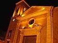 Iglesia iluminada de Las Torres de Cotillas desde el exterior.jpg