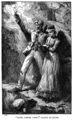 Illustration by C. J Staniland (1838-1916) and J. R. Wells (1849-1897) for The pirate island (1884, Blackie, London) by Harry Collingwood (1843-1922)-by courtesy of the Hathi Trust-page247-In the Gold Cave.png