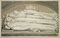 Illustrations to Robert Blair's The Grave , object 6 The Counseller, King, Warrior, Mother & Child, in the Tomb.jpg