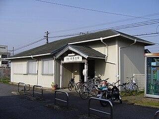 Inako Station (Mie) Railway station in Iga, Mie Prefecture, Japan