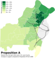 Increase in support for Prop A (4503668931).png