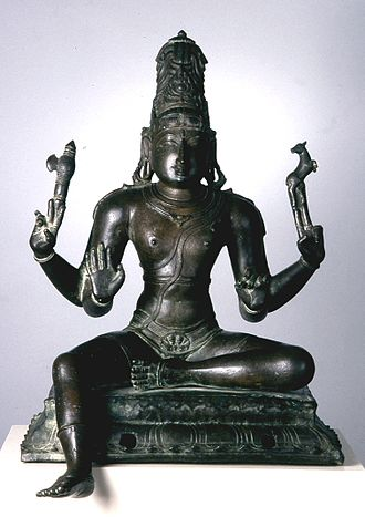 Hindu deities - Image: Indian Festival Image of Shiva Walters 543084