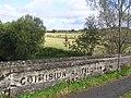 Inscription on bridge wall - geograph.org.uk - 1505813.jpg