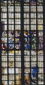 Gebrandschilderde Glazen In De Grote Of Sint Janskerk In