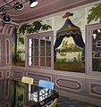 Interieur, zicht op behangsels in de Regentenkamer tijdens restauratie - Haarlem - 20535131 - RCE.jpg