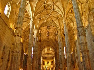 Diogo de Boitaca - Diogo Boitaca laid the foundations for the Jerónimos Monastery as an hall church with five bays under a single vault, having built the walls of the church as far as the cornices.