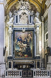 Interior of Chiesa dei Gesuiti (Venice) - right nave - La cappella dei tre gesuiti.jpg