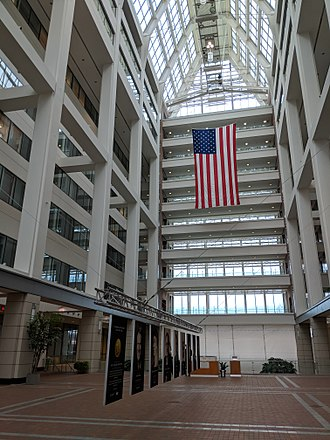 United States Patent and Trademark Office - Interior atrium of the USPTO Madison Building