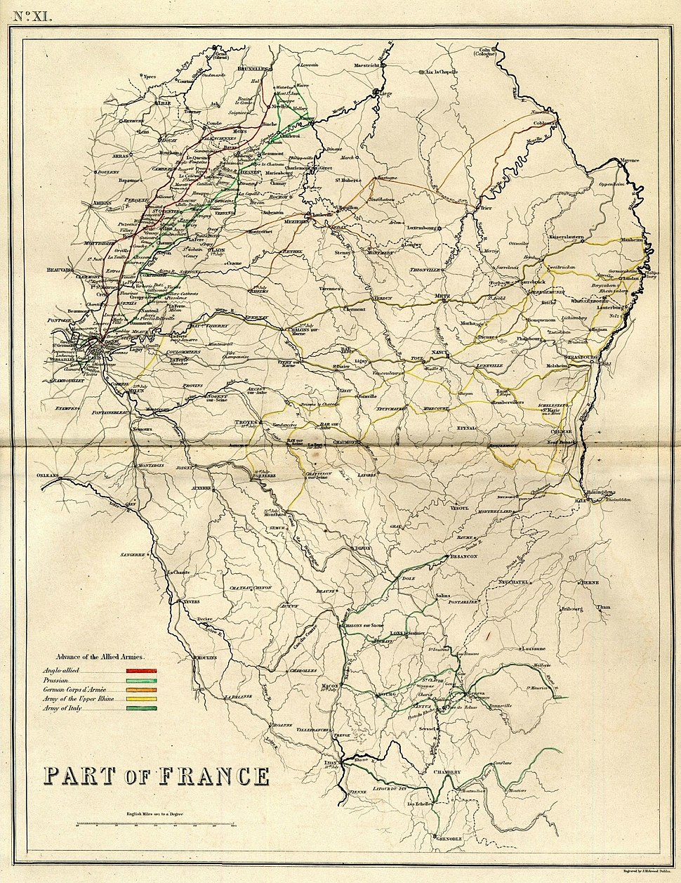 Invasion of France in 1815
