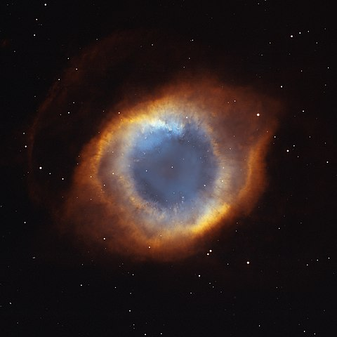 The Helix Nebula, a nearby planetary