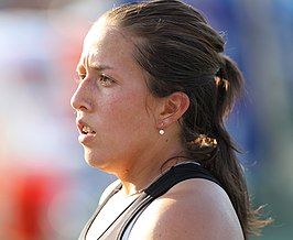 Winnares in het enkelspel, Irina Falconi