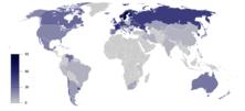 Irreligion map