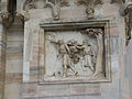 Israelites carrying grapes of Canaan-Exterior of the Duomo-Milan.jpg