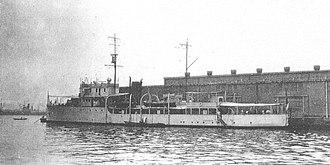 Azio-class minelayer - Image: Italian Naval minelayer Lepanto in 1938 at Yokohama
