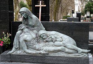 Ivo Kerdić - Work by Ivo Kerdić in the Mirogoj cemetery, Zagreb