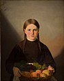 Jørgen Roed - A Girl with a Basket of Fruits - KMS259 - Statens Museum for Kunst.jpg