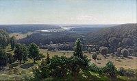 Jūlijs Feders - The Gauja Valley - Google Art Project.jpg