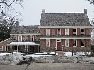 National Park, New Jersey - James Whitall Jr. House