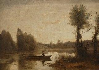 L'étang de Ville d'Avray