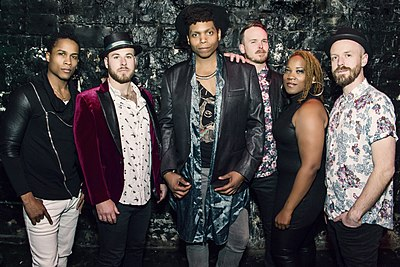Picture of a band or musician: Jc Brooks & The Uptown Sound